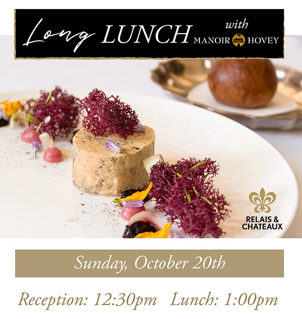 Long Lunch at Langdon Hall